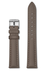 Cluse Cluse, Minuit Strap (16mm), taupe/ silver