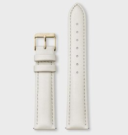 Cluse Cluse, Boho Chic, Strap (18mm), offwhite/ gold