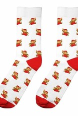 Dedicated Dedicated, Sigtuna Super Mario Pattern, white, 41-45