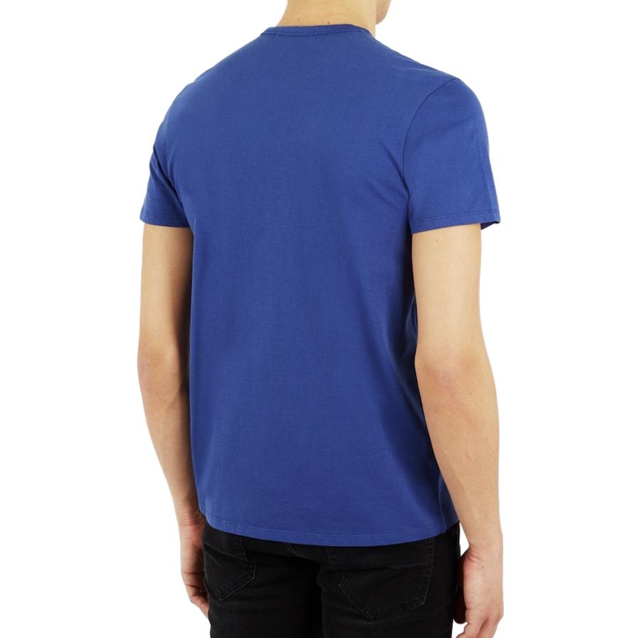 Ben Sherman, Union Optic Tee, washed blue, XL