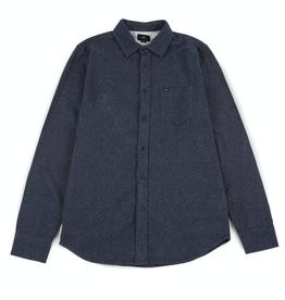 Obey Obey, Harrington Woven Shirt, navy, M