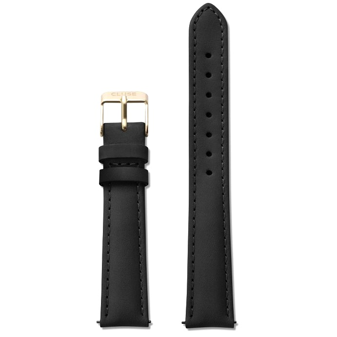 Cluse Cluse, Minuit Strap, black/gold