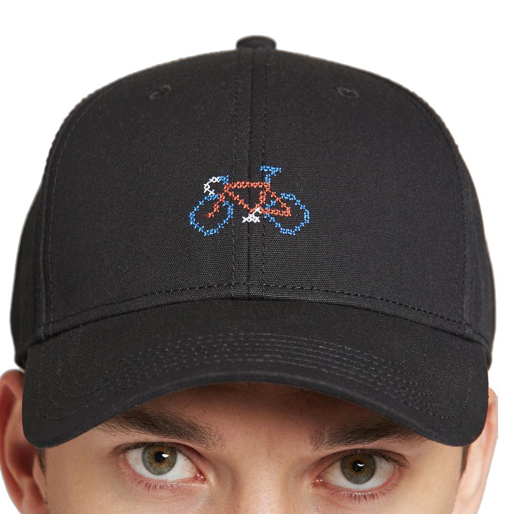Dedicated Dedicated, Cap Stitch Bike, black