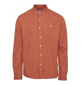 KnowledgeCotton Apparel Knowledge, Elder shirt, orange, XL