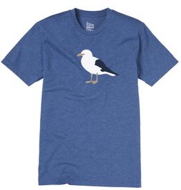 Cleptomanicx Cleptomanicx, Tee Gull 3, blue, XL