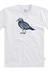 Cleptomanicx Cleptomanicx, Tee X-Ray Gull, white, XL
