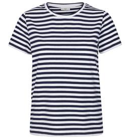 Minimum Minimum, Gabriella T-Shirt, dress blue, XS