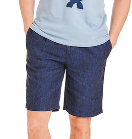 KnowledgeCotton Apparel KnowledgeCotton, FIG loose shorts, total eclipse, L