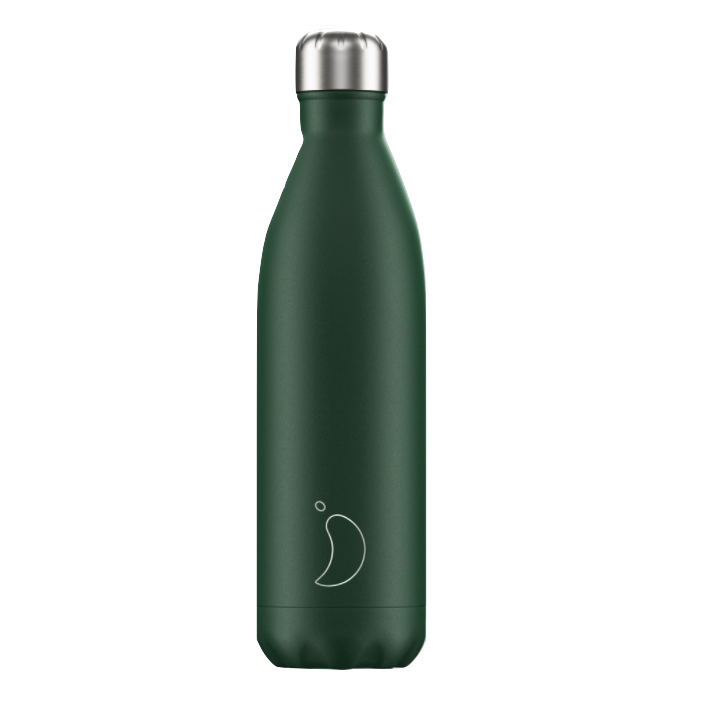 Chilly's Chilly's Bottles, matte green, 750ml