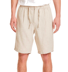 KnowledgeCotton Apparel KnowledgeCotton, FIG loose shorts, beige, S