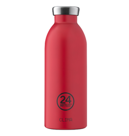 24 bottles 24 Bottles, Thermosflasche, hot red, 500