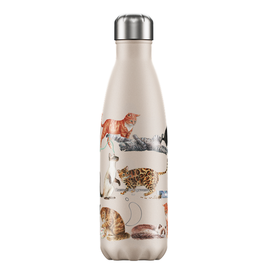 Chilly's Chilly's Bottles, Emma Bridgewater Cats, 500ml