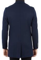 Ben Sherman, Covert Coat, Navy Blazer, M