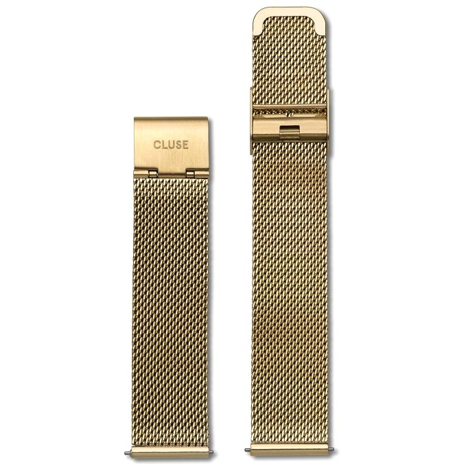 Cluse Cluse, Boho Chic, Mesh Strap, gold