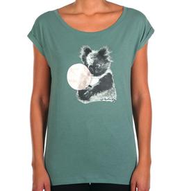 Iriedaily Iriedaily, Koala Bubble Tee, dark beryl, S