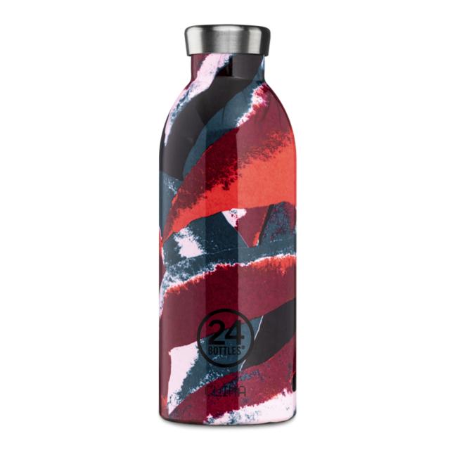 24 bottles 24 Bottles, Thermosflasche, flower flame, 500