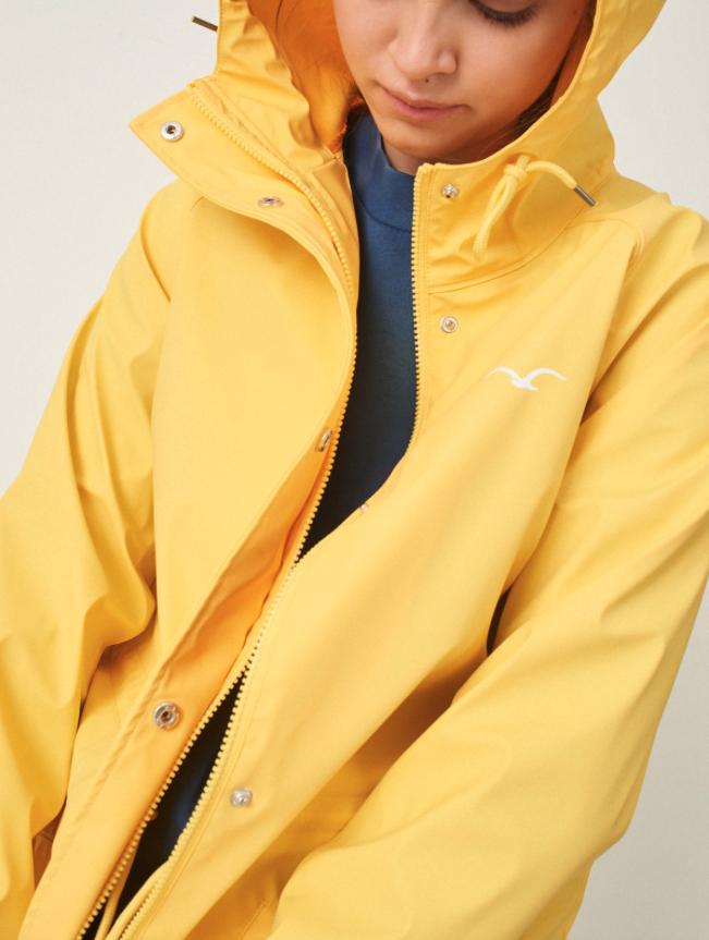 Cleptomanicx Cleptomanicx, Jacket Greta Rain, yellow, L