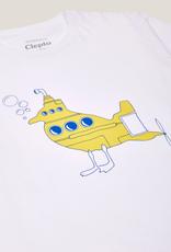 Cleptomanicx Cleptomanicx, Basic Tee Uboot Gull, white, M