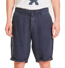 KnowledgeCotton Apparel KnowledgeCotton, Chuck loose linen shorts, total eclipse, 33