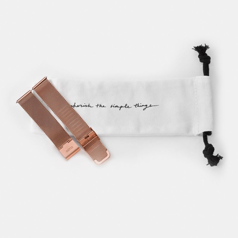 Cluse Cluse, Boho Chic, Mesh Strap, rose gold