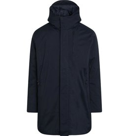 KnowledgeCotton Apparel KnowledgeCotton, Climate shell Jacket, total eclipse, L