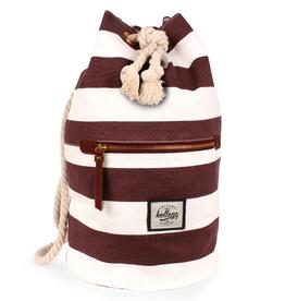 Kollegg Kollegg, Sailorbag striped, white/red