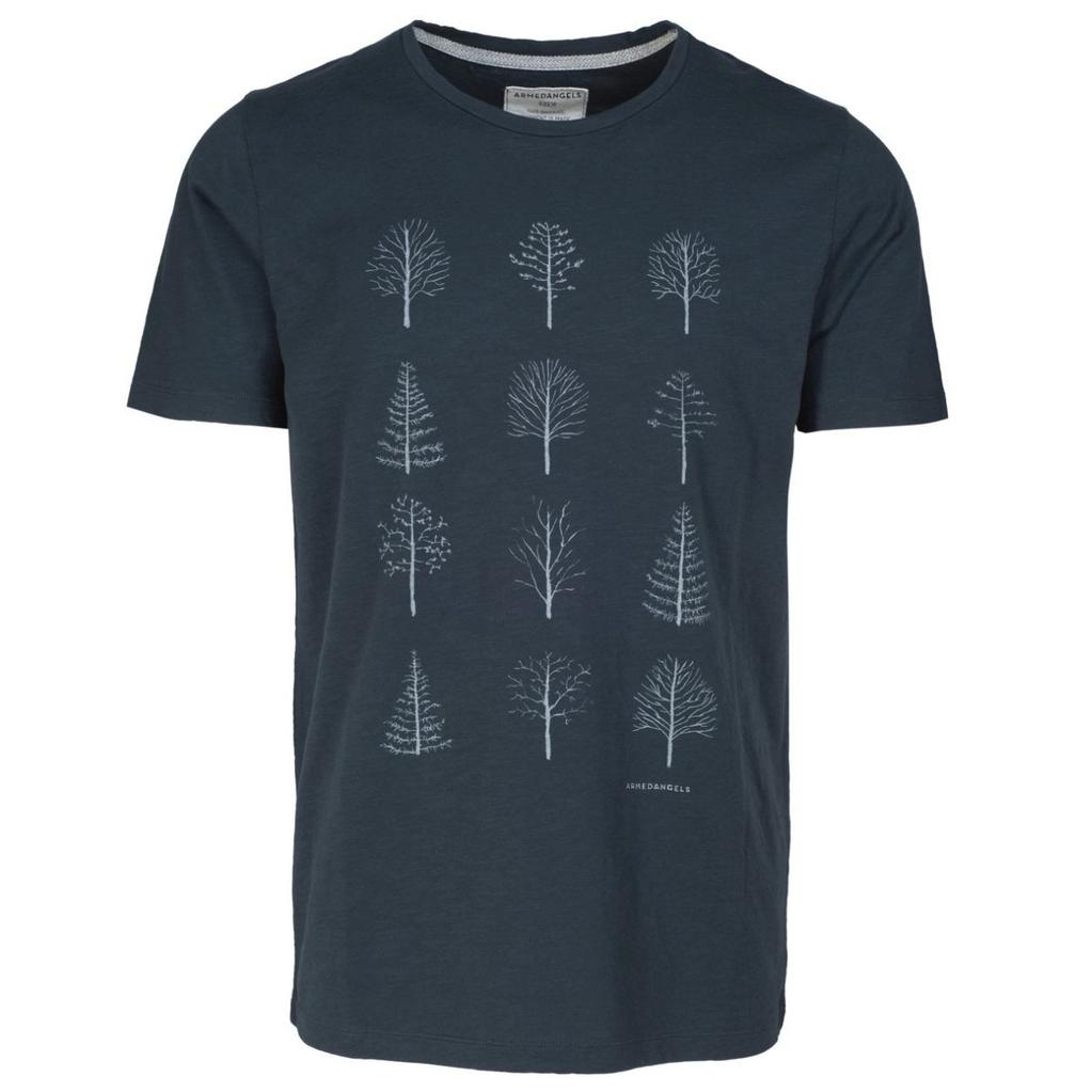 armedangels Armedangels, Dean Tree Grid, blueberry blue, XL