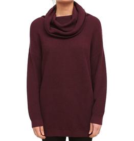 Iriedaily Iriedaily, Mock Turtle Knit, maroon, XS
