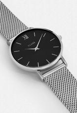 Cluse Cluse, Minuit, mesh, silver/black