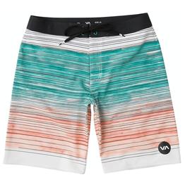 RVCA, Arica Trunk Shorts, light teal, 34
