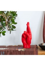 Candle Hand Candle Hand, crossed fingers, rot