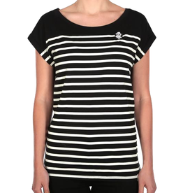 Iriedaily Iriedaily, Panda Stripe Tee, black, L