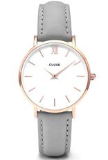 Cluse Cluse, Minuit, rose gold white/grey