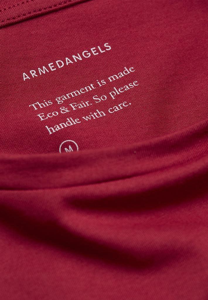 armedangels Armedangels, Jaames, intense red, XL
