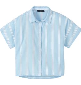 Recolution Recolution, Blouse stripes, dusk blue-white, L