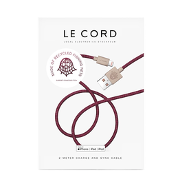 Le Cord LeCord, Ghost Net 2.0, 2 Meter, plum