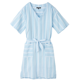 Recolution Recolution, Dress stripes, dusk blue- white, S