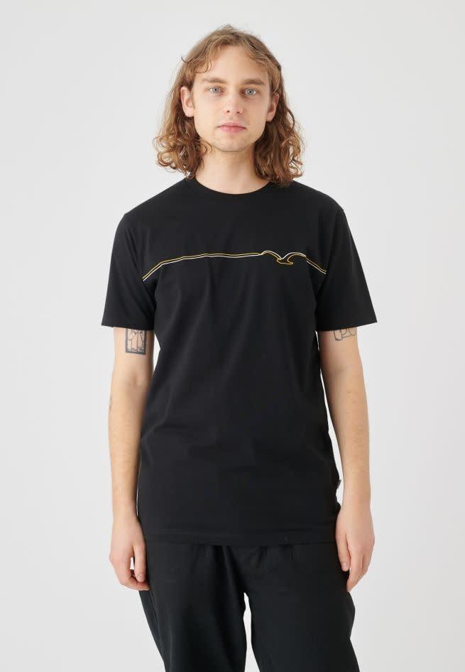 Cleptomanicx Cleptomanicx, Möwe Lines, black/golden rod, S