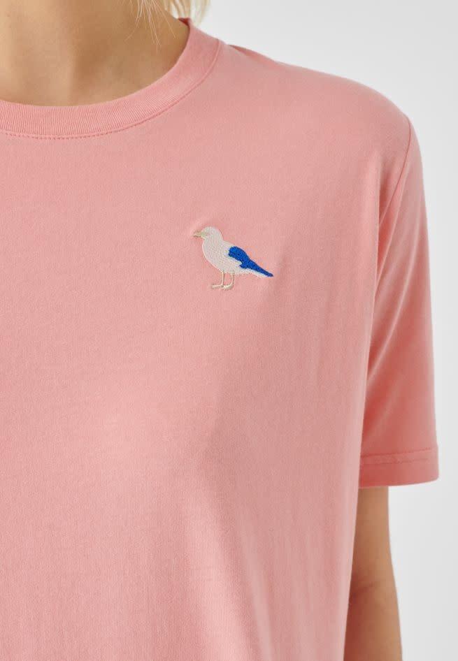 Cleptomanicx Cleptomanicx, Embroidery Gull, strawberry, L