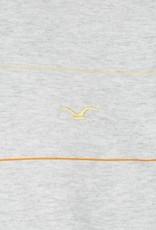 Cleptomanicx Cleptomanicx, Crewneck Multi Stripes, light grey/lemon, M