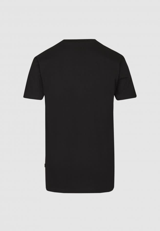 Cleptomanicx Cleptomanicx, Basic Tee Embro Gull, black, L