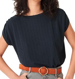 Sessun Sessun, Sixtojacquard T-Shirt,  dark fumo, S
