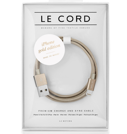 Le Cord LeCord, Solid, iPhone gold Edition