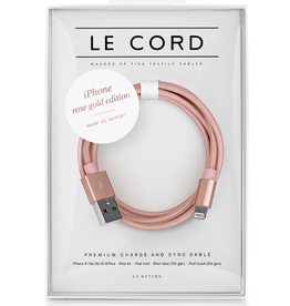 Le Cord LeCord, Solid, iPhone rose gold Edition