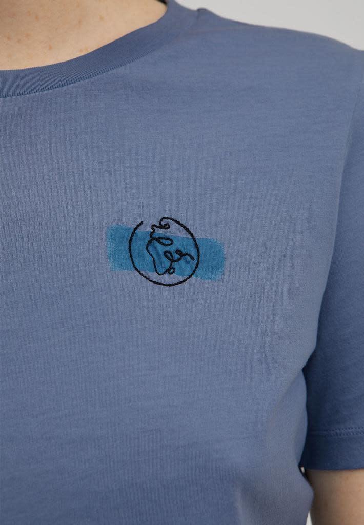 armedangels Armedangels, Lidaa Elements, foogy blue, XS