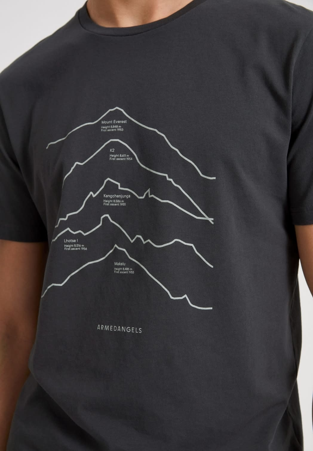 armedangels Armedangels, Jaames Top 5 Mountain, depth navy, L