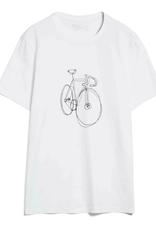 armedangels Armedangels, Jaames scr. bike, white, XL