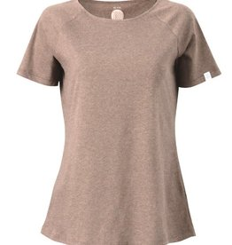 ZRCL ZRCL, W T-Shirt Basic, brown melange, L