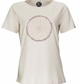 ZRCL ZRCL, W T-Shirt Tree Ring, natural, S