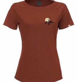 ZRCL ZRCL, W T-Shirt Bird, rost, L